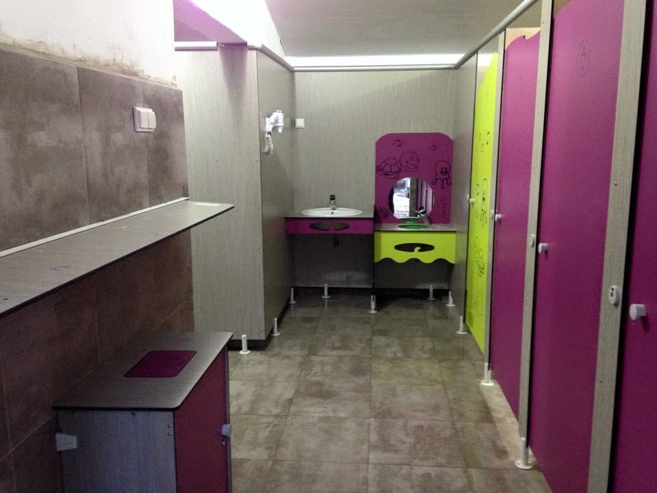 sanitaires baby room